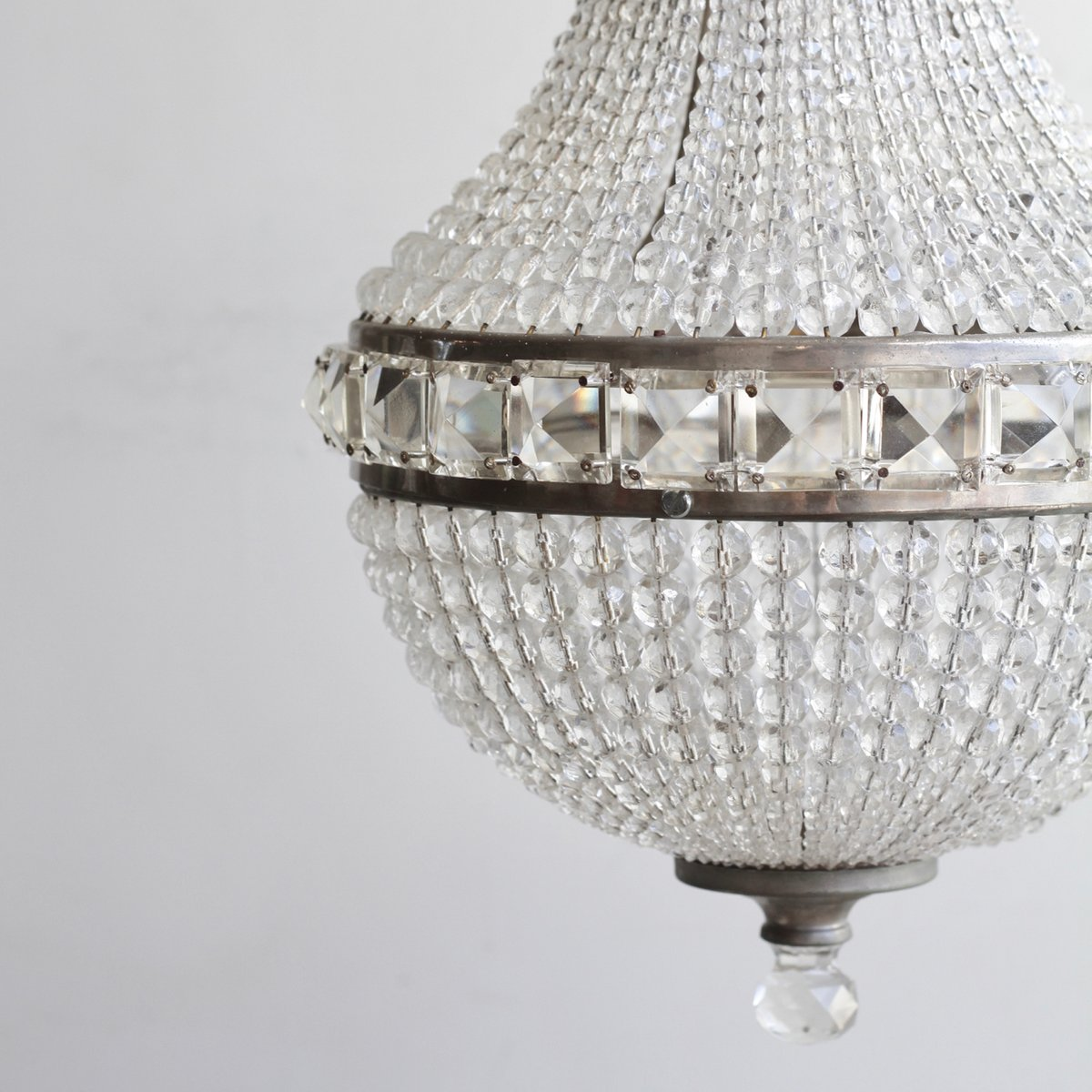 Czech crystal balloon chandelier 1930s for sale at pamono price per piece mozeypictures Choice Image