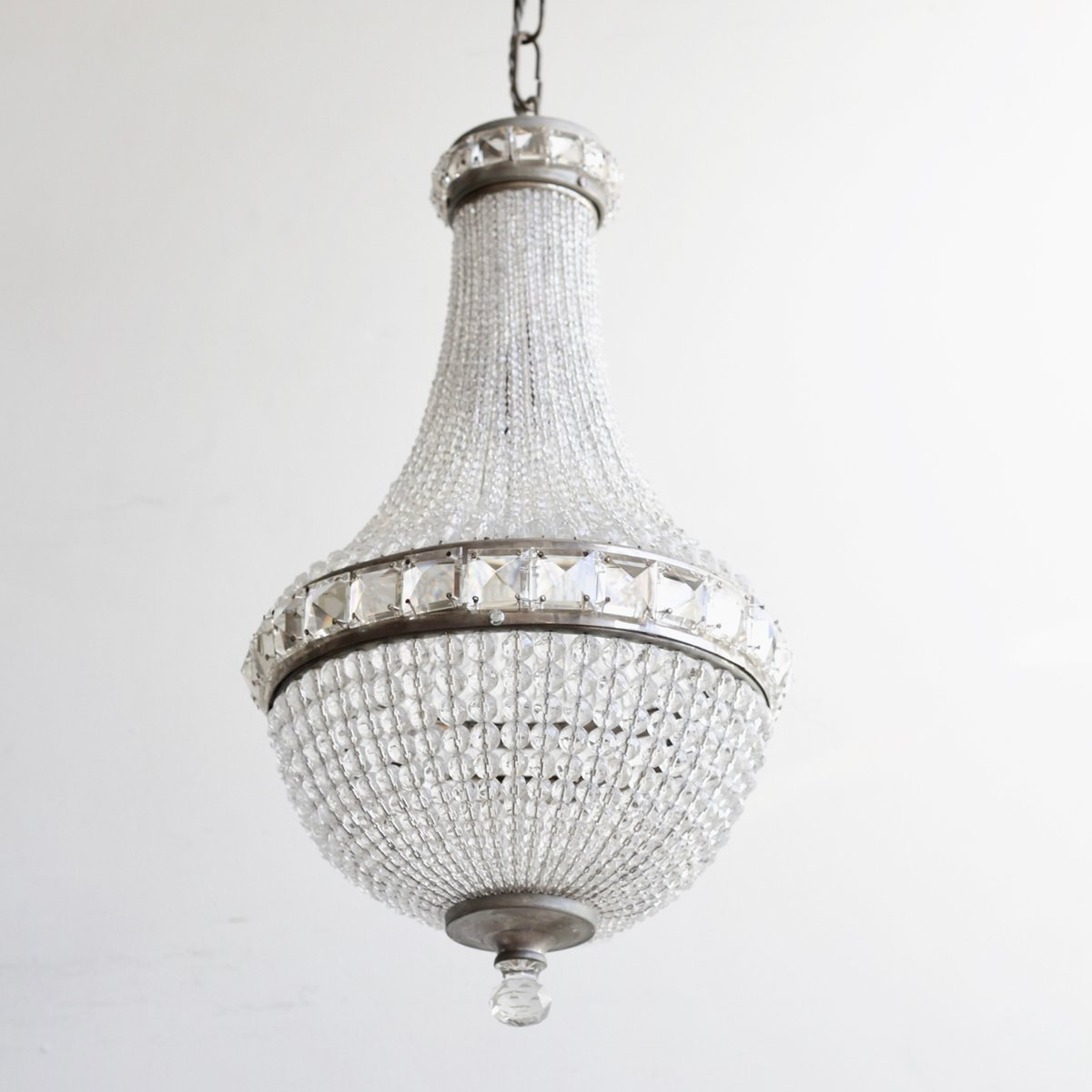 Czech Crystal Balloon Chandelier 1930s For Sale At Pamono