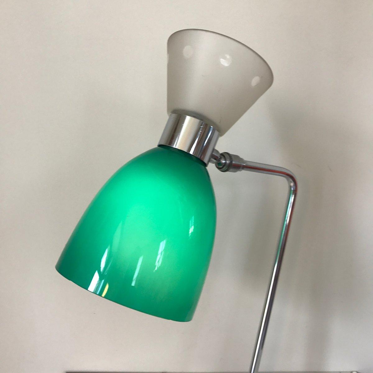 chrom glas diabolo lampe 1960er bei pamono kaufen. Black Bedroom Furniture Sets. Home Design Ideas