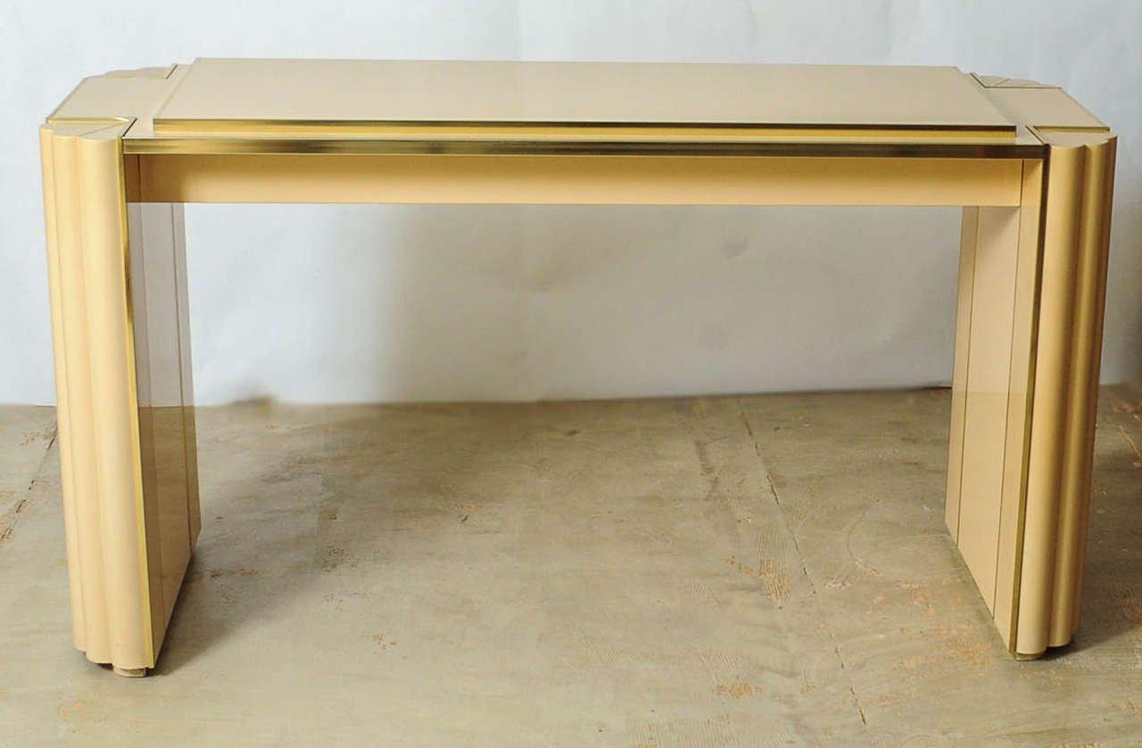 vintage esstisch von alain delon f r maison jansen bei pamono kaufen. Black Bedroom Furniture Sets. Home Design Ideas