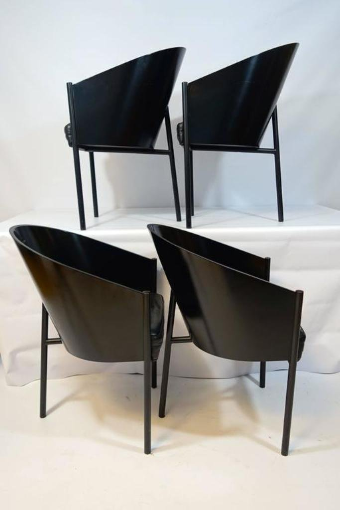 vintage costes st hle von philippe starck f r driade 4er. Black Bedroom Furniture Sets. Home Design Ideas