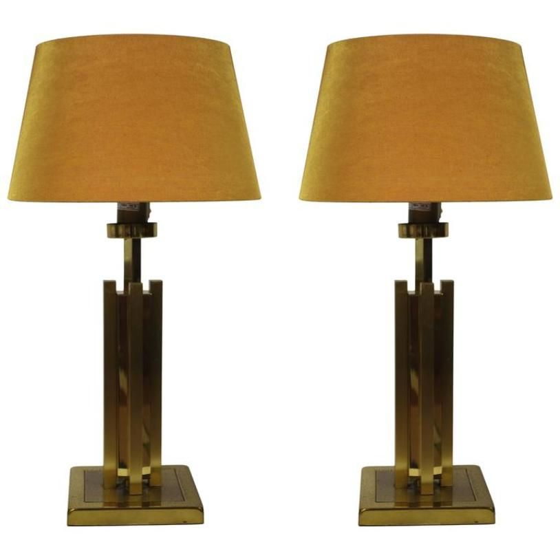 Vintage Hollywood Regency Table Lamps, Set Of 2