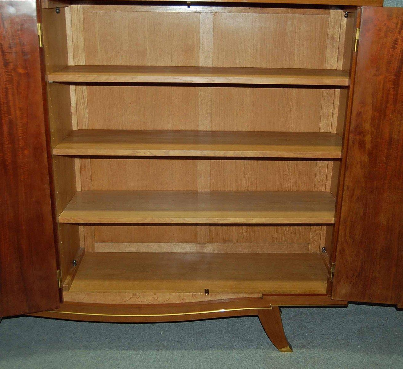 meuble vintage art d co en acajou d albert fournier en vente sur pamono. Black Bedroom Furniture Sets. Home Design Ideas