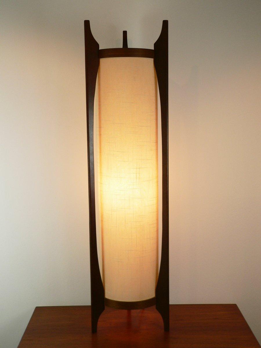 amerikanische walnuss stehlampe 1950er bei pamono kaufen. Black Bedroom Furniture Sets. Home Design Ideas