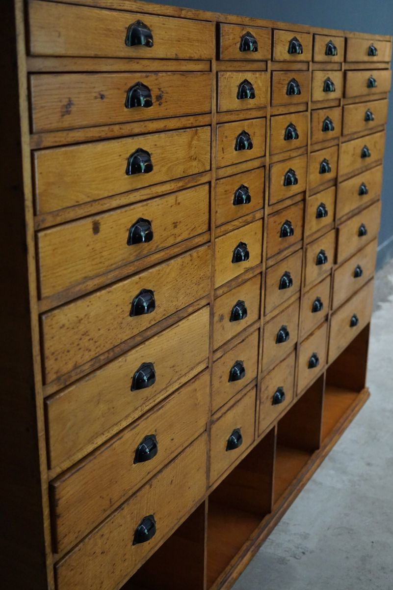 Large French Beech Apothecary Cabinet, 1950s 9. $3,731.00. Price Per Piece