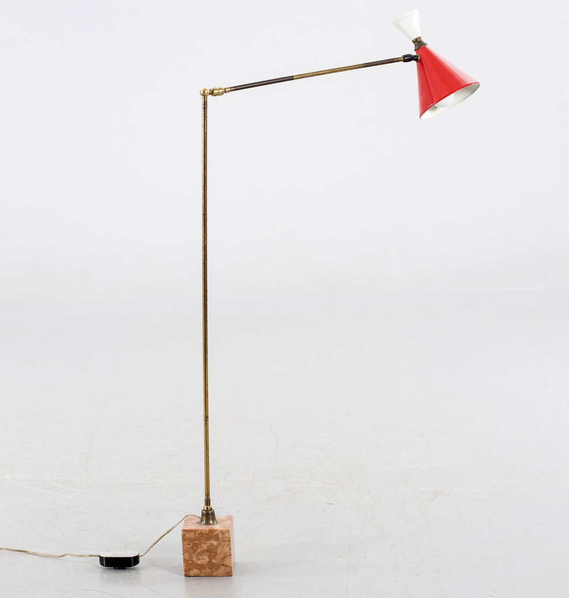 Mid century italian handmade floor lamp for sale at pamono mid century italian handmade floor lamp aloadofball Gallery