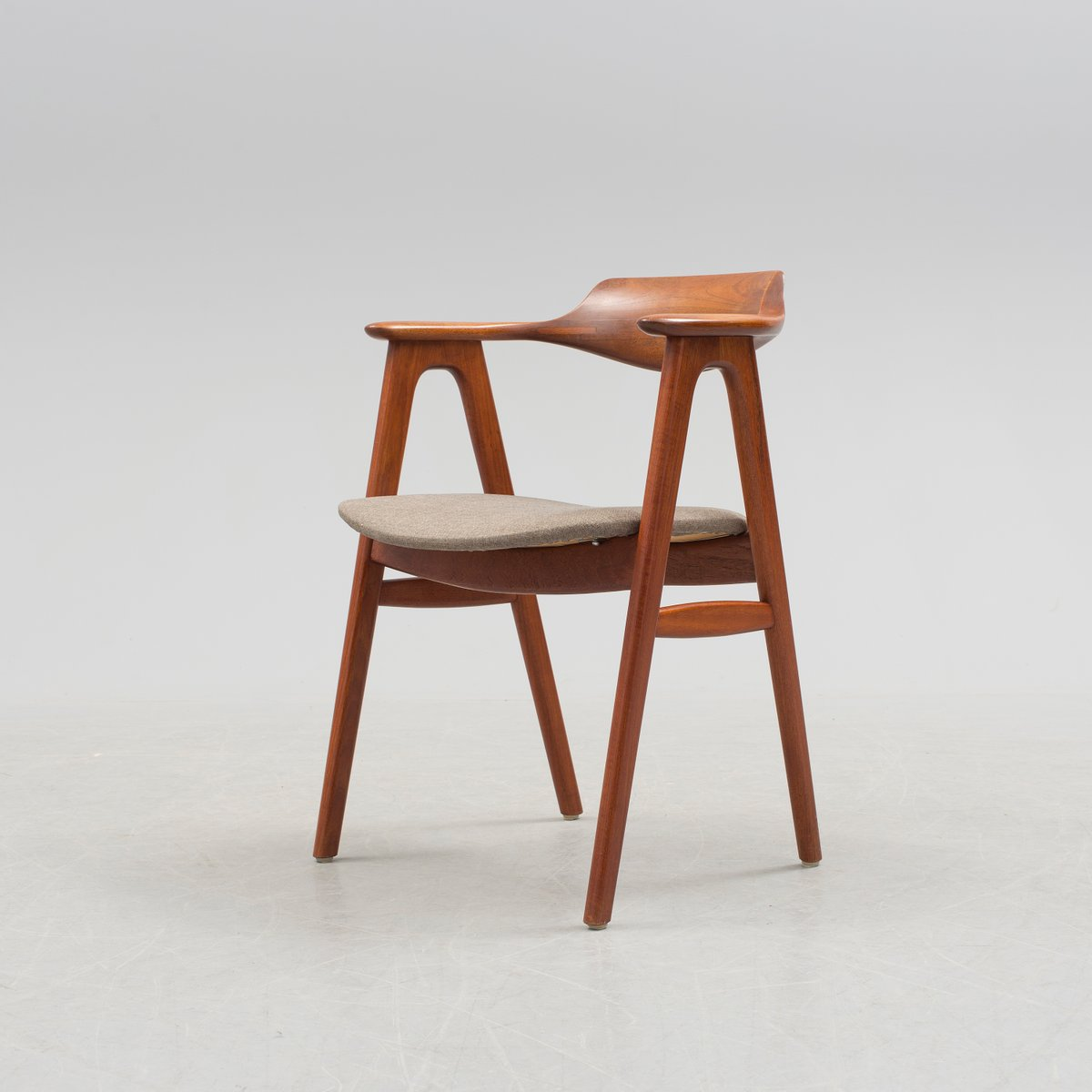Vintage Danish Desk Armchair By Erik Kirkegaard For H 248 Ng