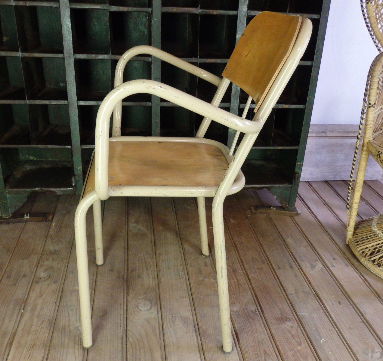 chaise d 39 colier avec accoudoirs 1960s en vente sur pamono. Black Bedroom Furniture Sets. Home Design Ideas