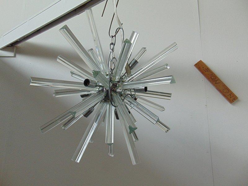 lampe sputnik en verre murano en vente sur pamono. Black Bedroom Furniture Sets. Home Design Ideas