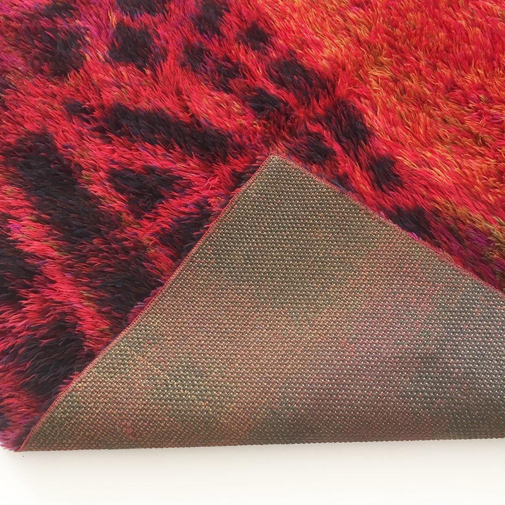 skandinavischer rya teppich von ritva puotila f r finnrya oy ab 1960er bei pamono kaufen. Black Bedroom Furniture Sets. Home Design Ideas