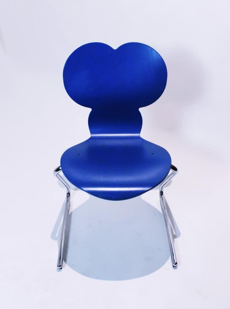 Pantoflex Mickey Mouse Chair By Verner Panton For Vs Möbel 1994 At Pamono