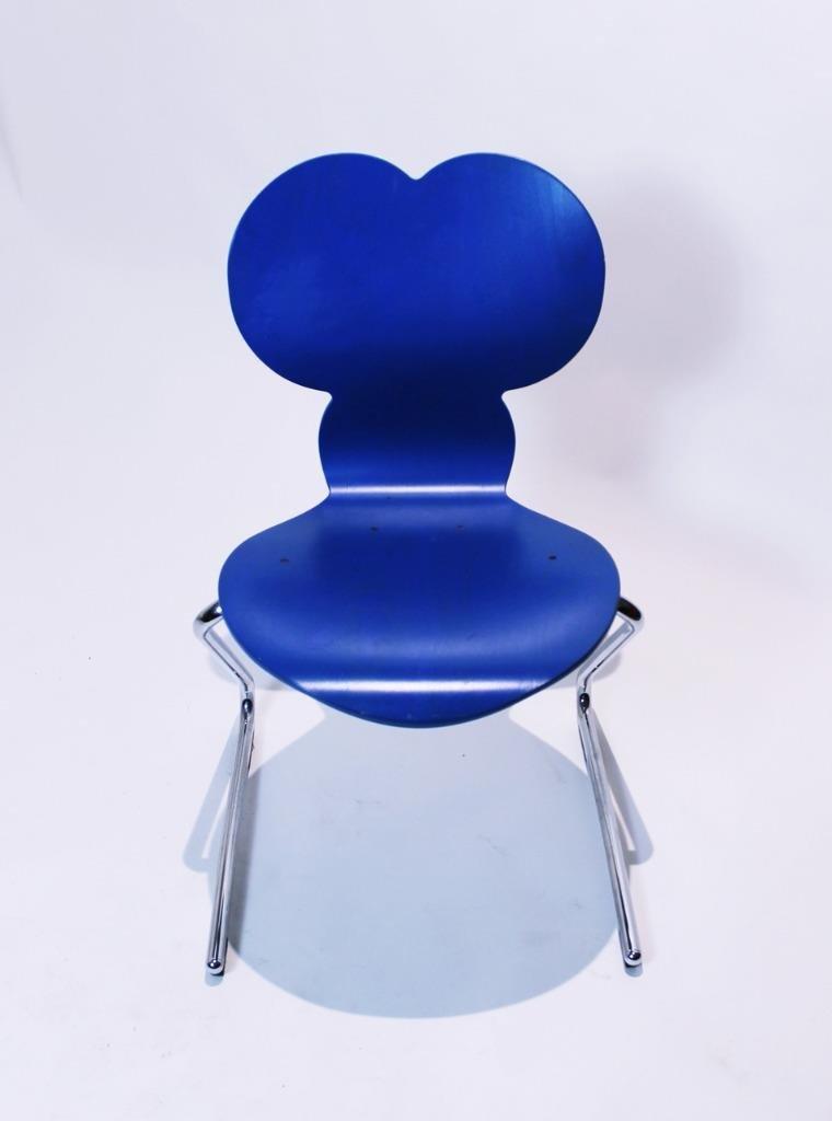 pantoflex mickey mouse stuhl von verner panton f r vs m bel 1994 bei pamono kaufen. Black Bedroom Furniture Sets. Home Design Ideas