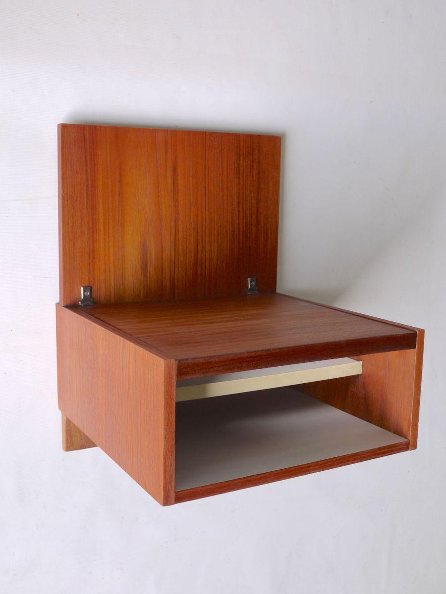 h ngender japanese series nachttisch von cees braakman f r pastoe 1960er bei pamono kaufen. Black Bedroom Furniture Sets. Home Design Ideas