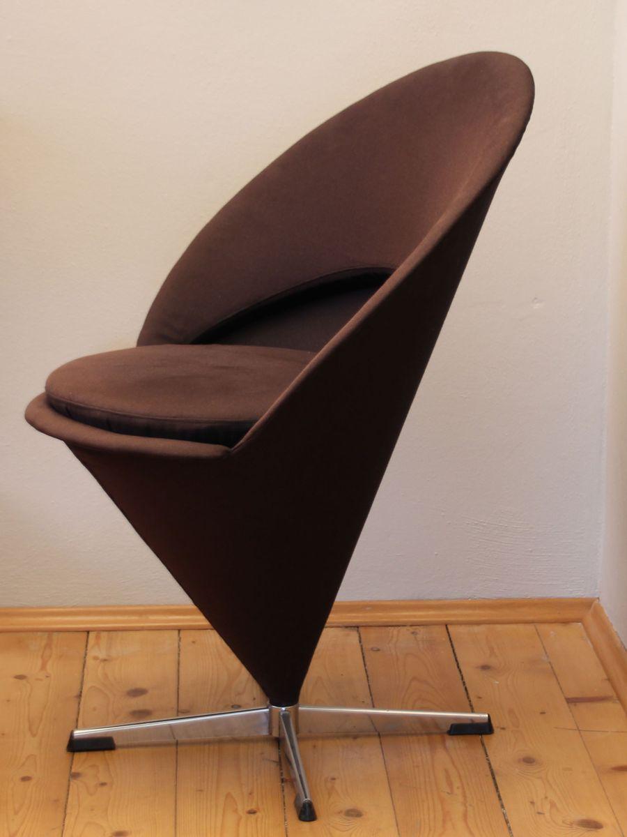 vintage cone chair von verner panton f r gebr der nehl bei pamono kaufen. Black Bedroom Furniture Sets. Home Design Ideas
