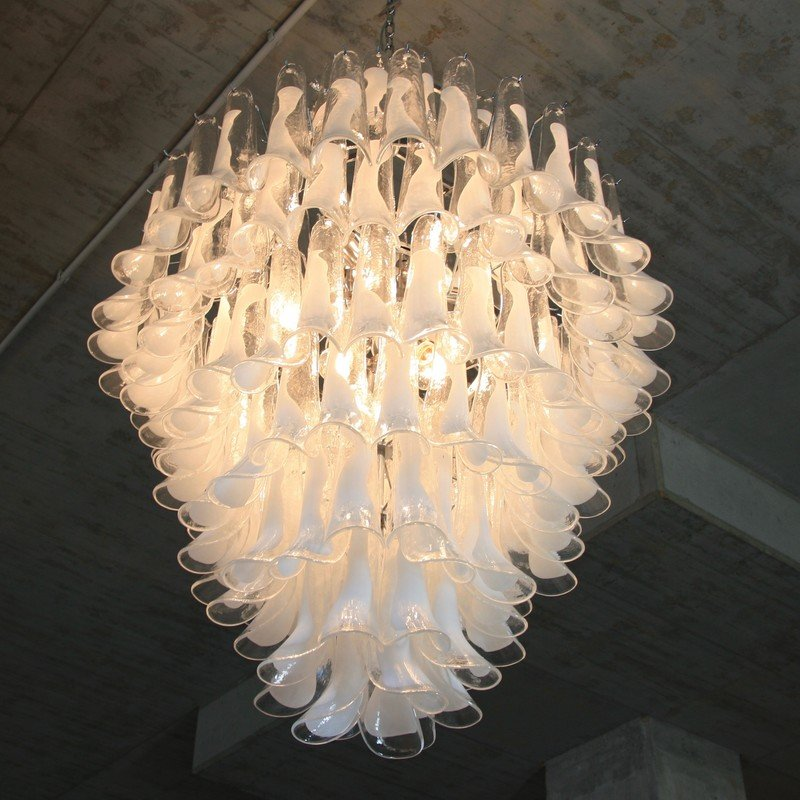 Vintage Murano Glass Saddle Form Chandelier 6 812200 Price Per Piece
