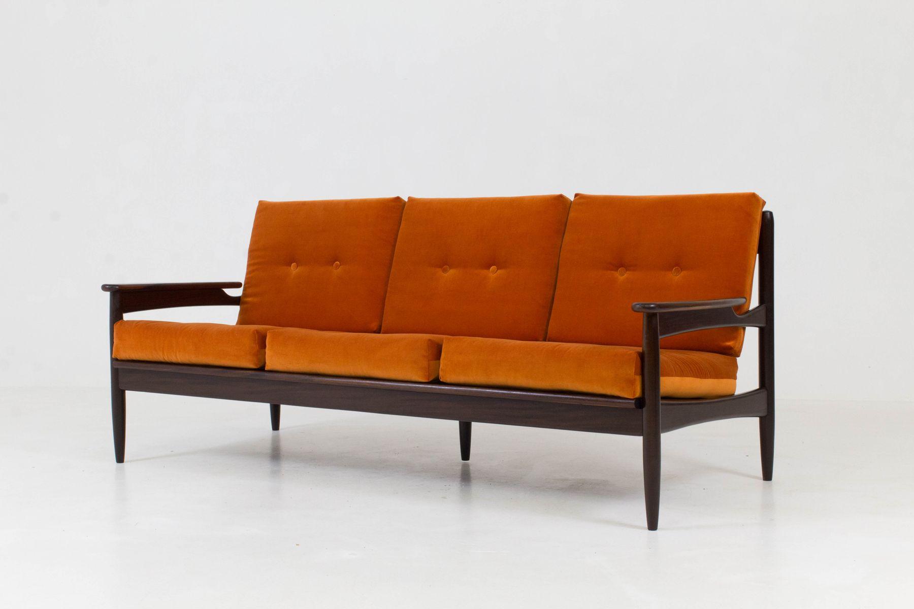 Perfect Mid Century Modern Danish Organic Sofa From Lifa, 1960s
