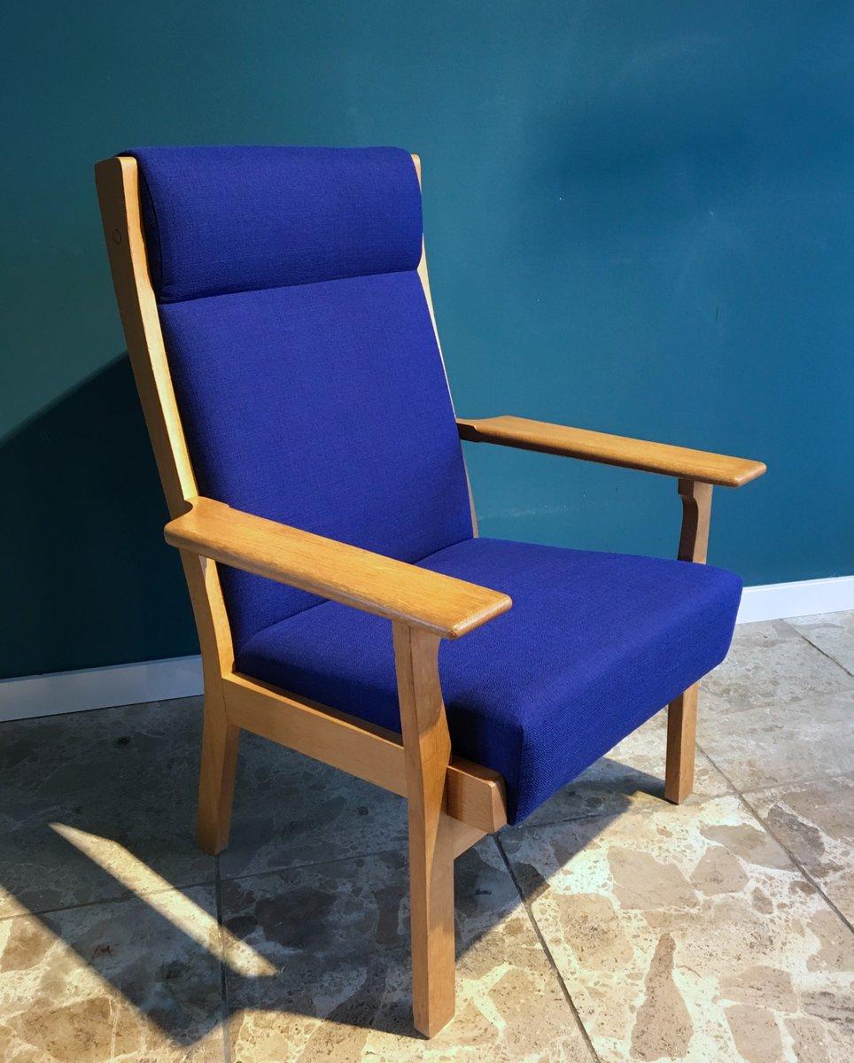 vintage ge 181 a sessel von hans j wegner f r getama bei. Black Bedroom Furniture Sets. Home Design Ideas