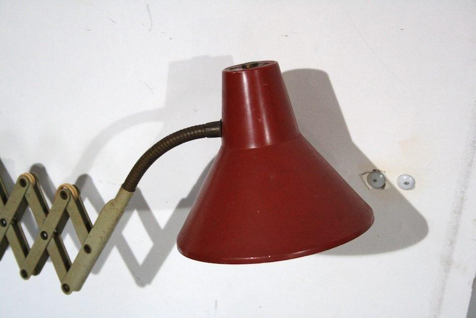 mid century ziehharmonika wandlampe von hala zeist bei. Black Bedroom Furniture Sets. Home Design Ideas