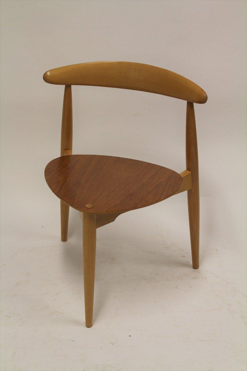 Heart Chairs By Hans Wegner For Fritz Hansen, 1963, Set Of 6