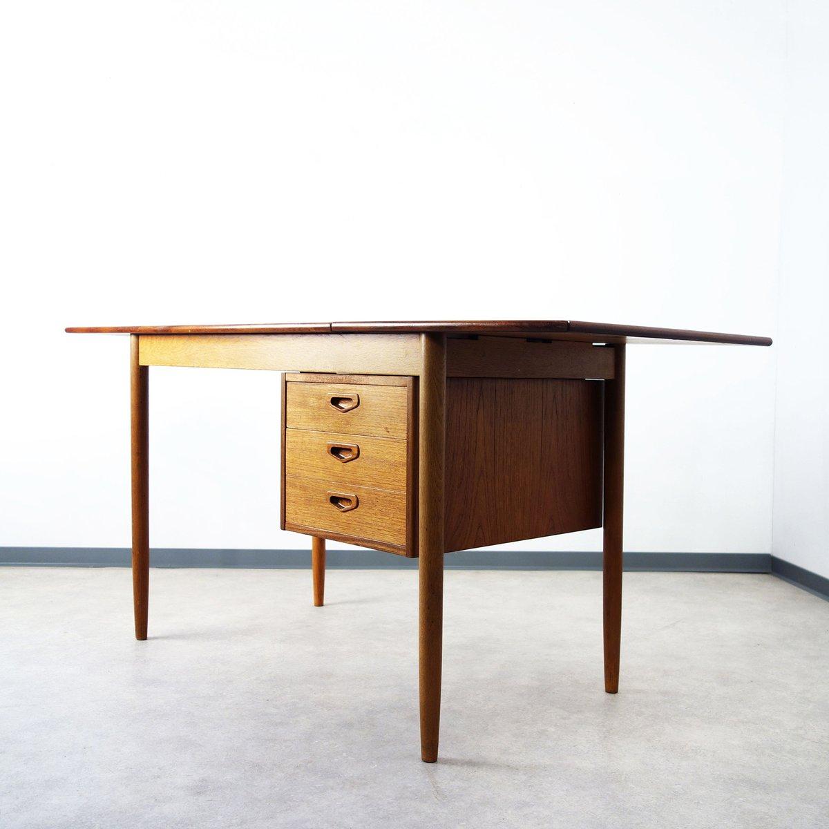 d nischer vintage teak tisch bei pamono kaufen. Black Bedroom Furniture Sets. Home Design Ideas