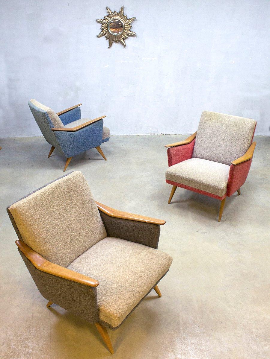 Bunte sessel 1960er 3er set bei pamono kaufen for Bunte sessel