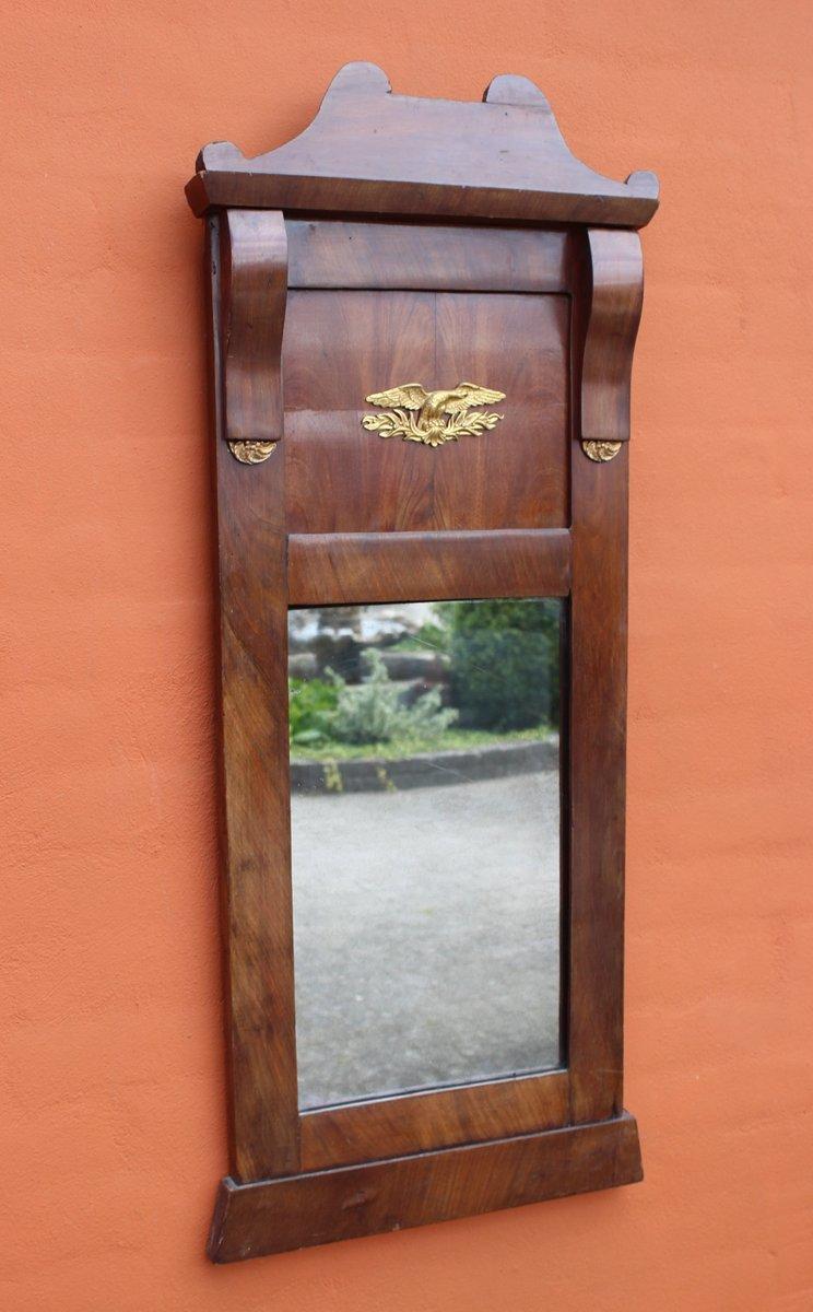 antiker spiegel aus mahagoni blattgold bei pamono kaufen. Black Bedroom Furniture Sets. Home Design Ideas