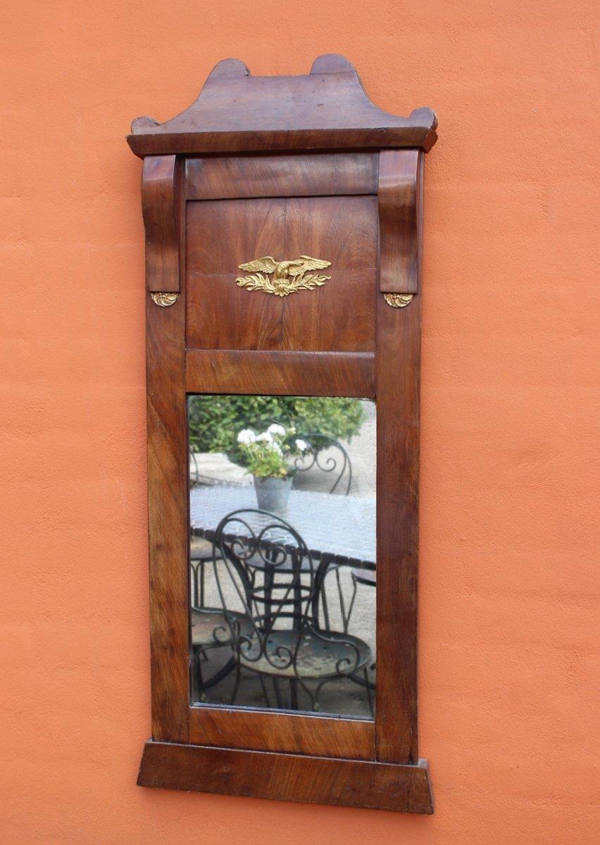 Antiker spiegel aus mahagoni blattgold bei pamono kaufen for Spiegel englisch