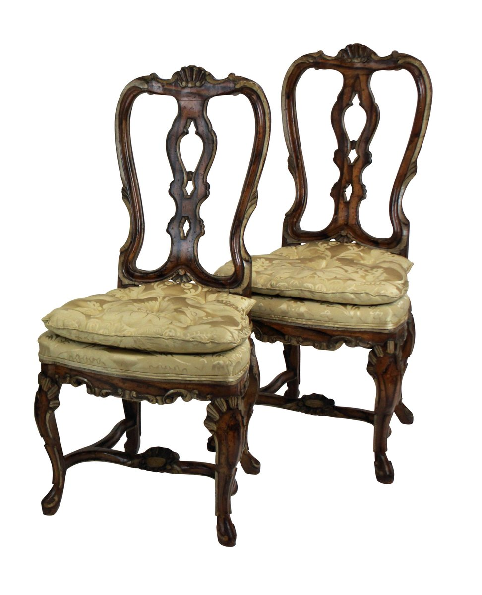 george ii st hle 1760er 4er set bei pamono kaufen. Black Bedroom Furniture Sets. Home Design Ideas