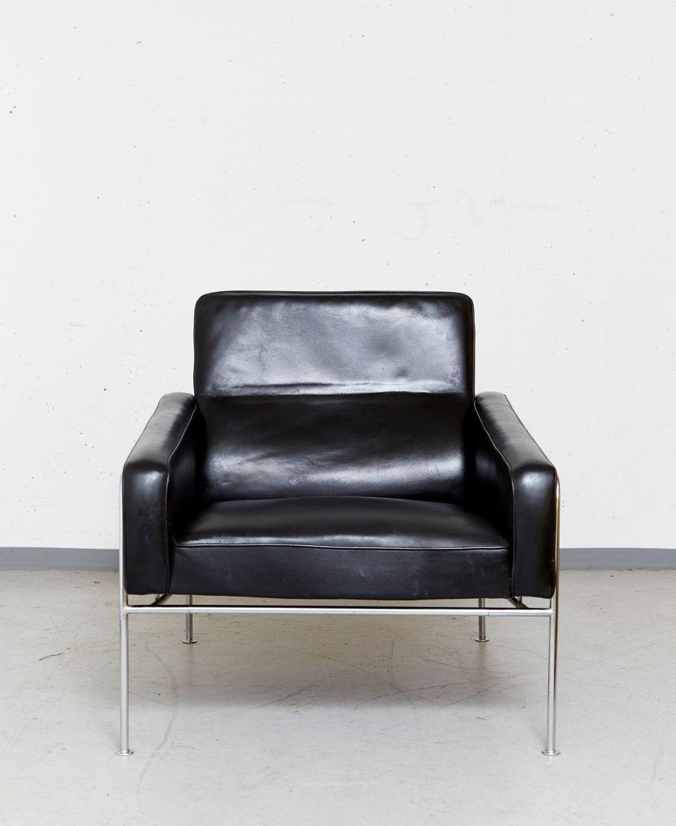 serie 3300 sessel von arne jacobsen f r fritz hansen 1956 bei pamono kaufen. Black Bedroom Furniture Sets. Home Design Ideas