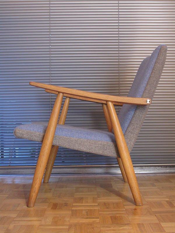 ge260 sessel von hans wegner f r getama bei pamono kaufen. Black Bedroom Furniture Sets. Home Design Ideas
