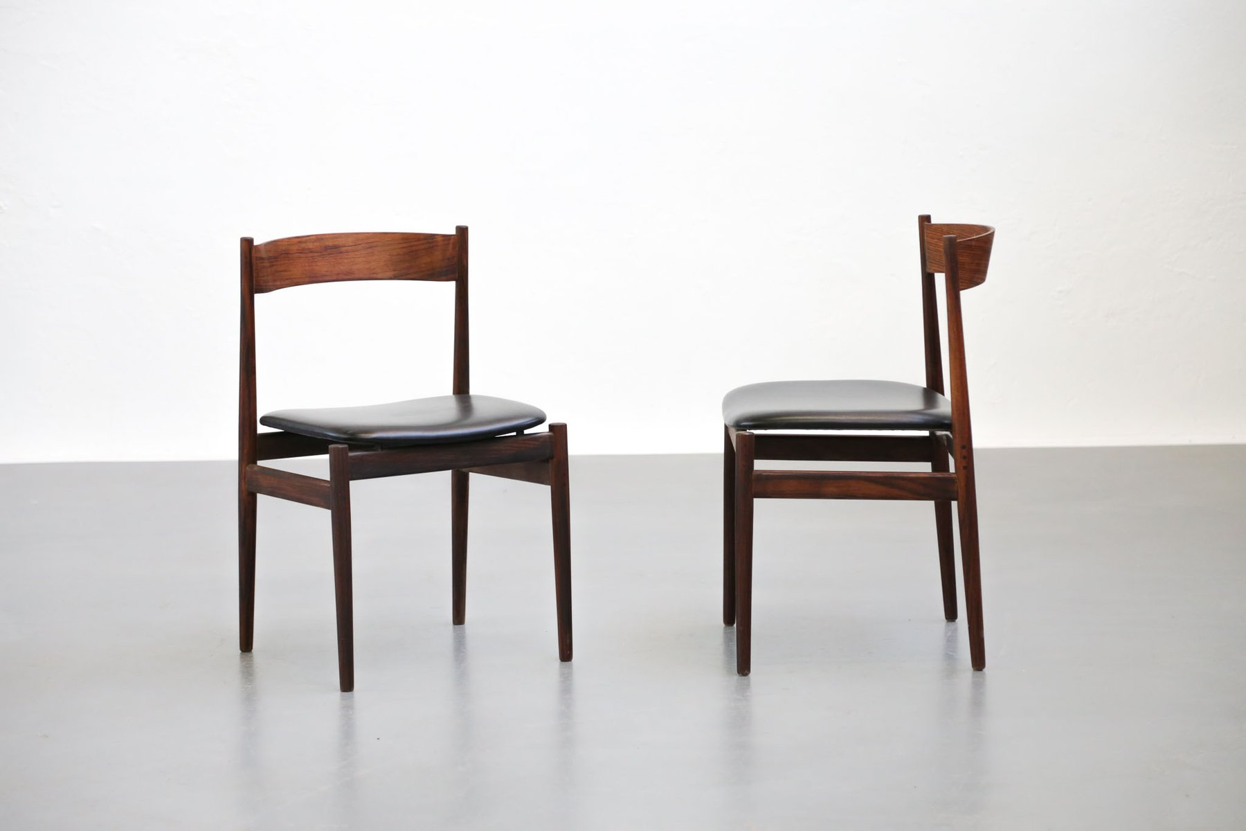 Italian Chairs By Gianfranco Frattini For Cassina, 1960s, Set Of 4