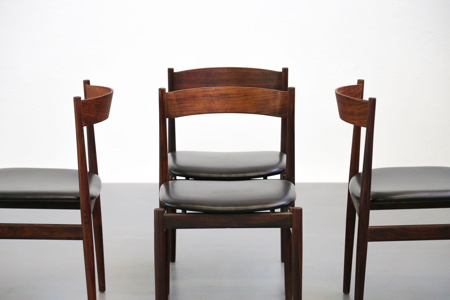 italienische st hle von gianfranco frattini f r cassina 1960er 4er set bei pamono kaufen. Black Bedroom Furniture Sets. Home Design Ideas