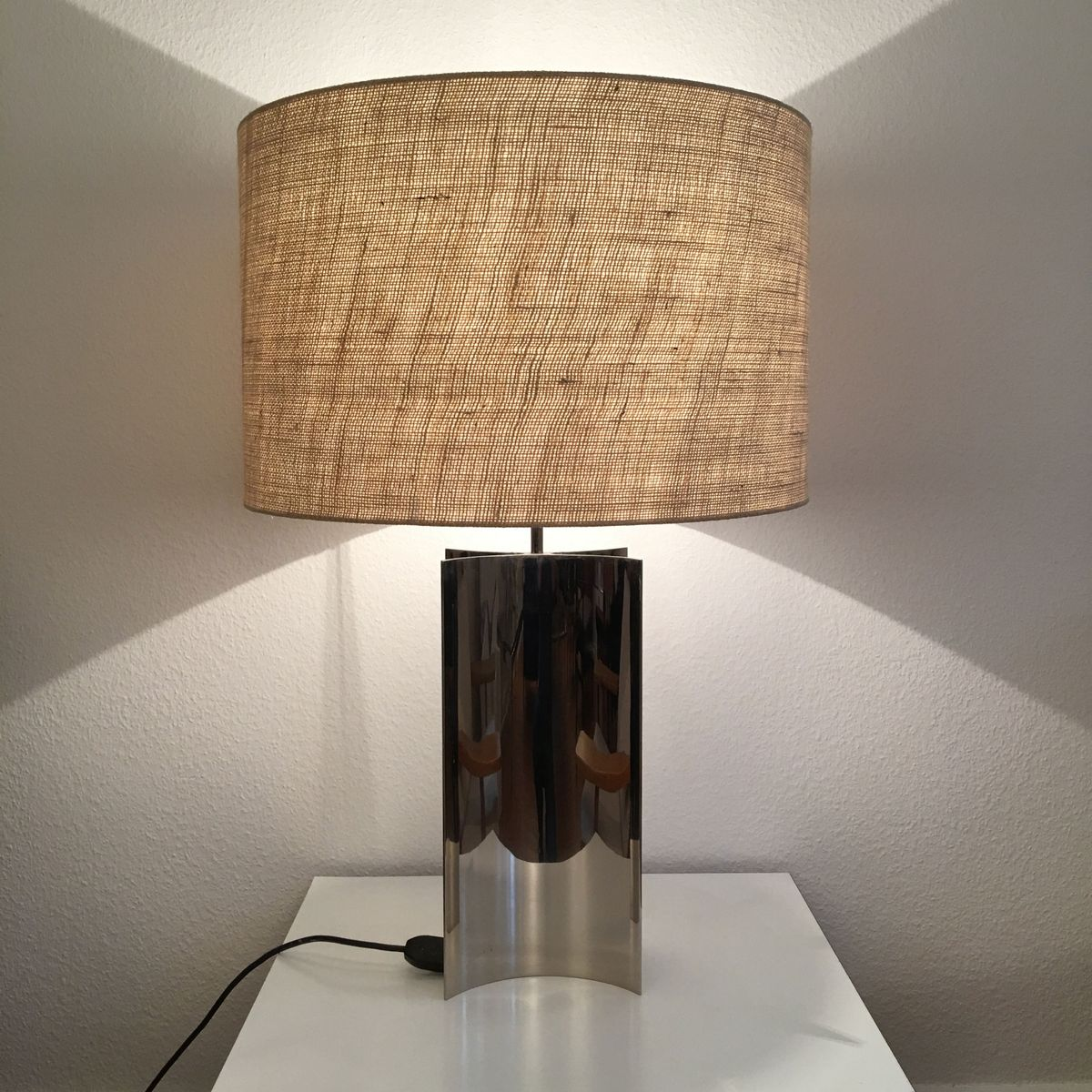 vintage metall lampe bei pamono kaufen. Black Bedroom Furniture Sets. Home Design Ideas