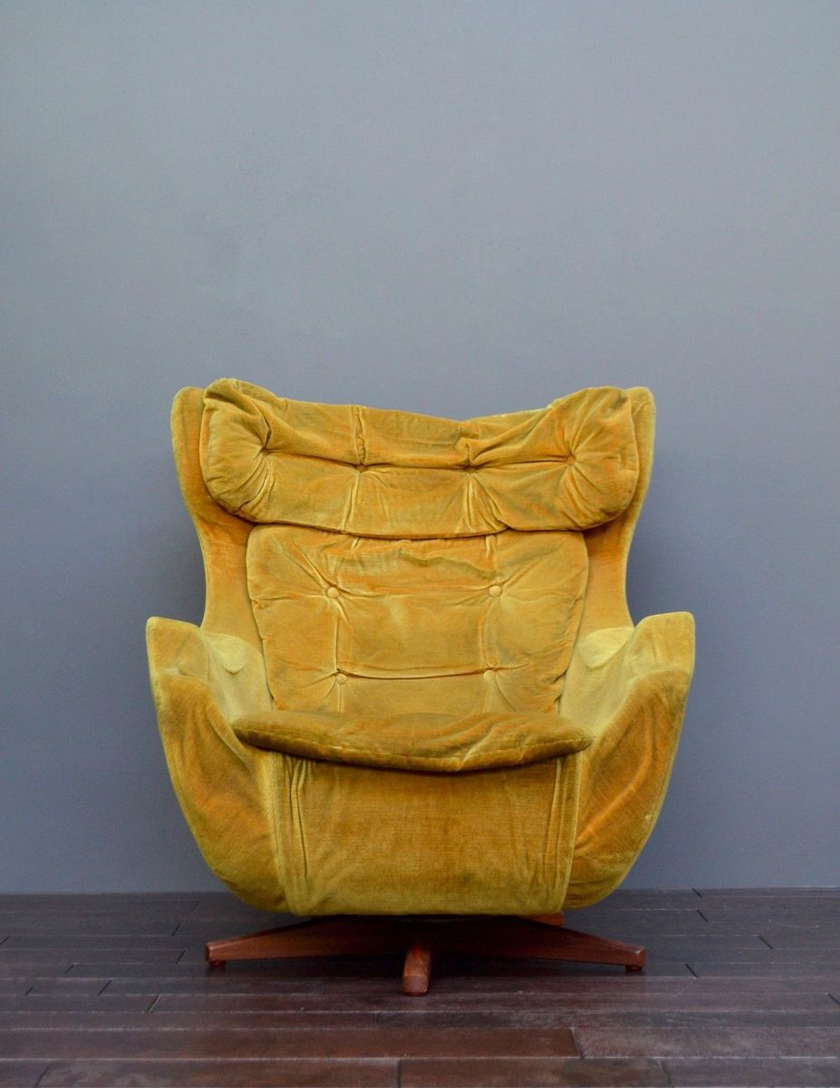 knoll egg chair. Vintage Statesman Swivel Egg Chair By Florence Knoll For Parker Sale At Pamono O