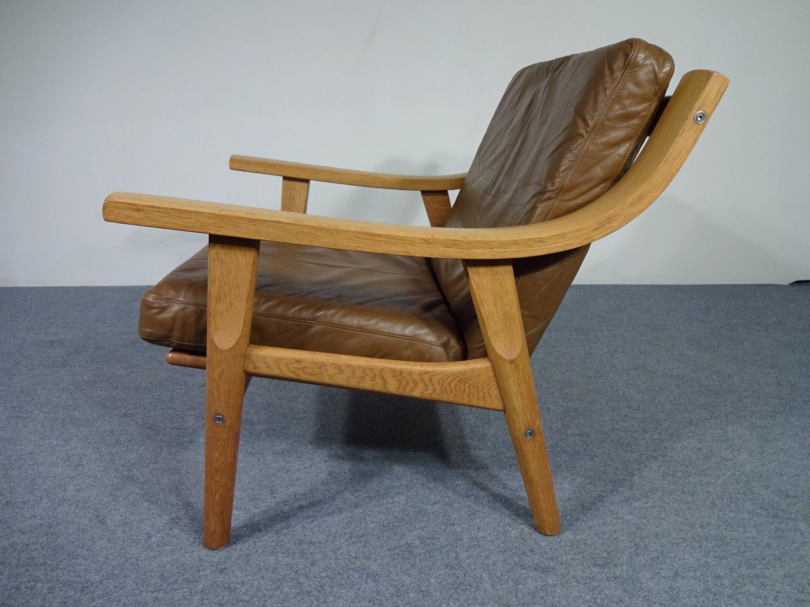 ge 530 sessel von hans j wegner f r getama 1960er bei. Black Bedroom Furniture Sets. Home Design Ideas