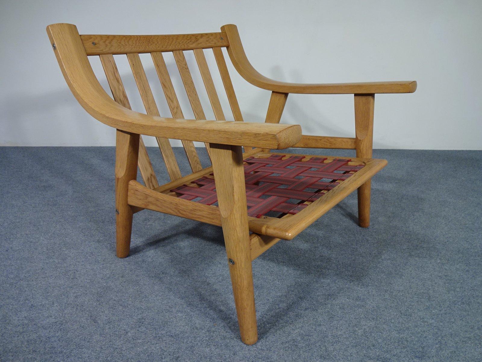 chaise ge 530 par hans j wegner pour getama 1960s en. Black Bedroom Furniture Sets. Home Design Ideas