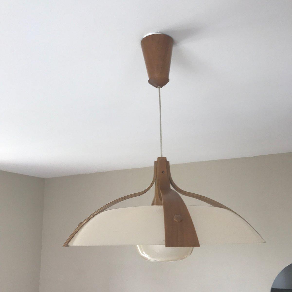 skandinavische deckenlampe 1960er bei pamono kaufen. Black Bedroom Furniture Sets. Home Design Ideas