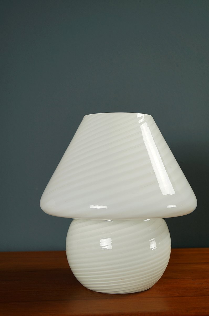 Murano glass mushroom table lamps 1970s set of 2 for sale at pamono mozeypictures Image collections