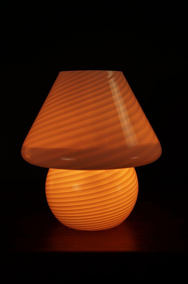 Murano glass mushroom table lamps 1970s set of 2 for sale at pamono 47000 aloadofball Images