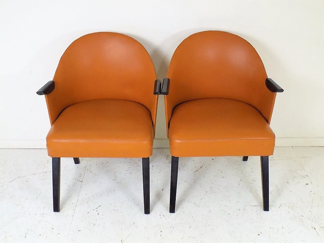 polnische klubsessel von spwm 1950er 2er set bei pamono kaufen. Black Bedroom Furniture Sets. Home Design Ideas