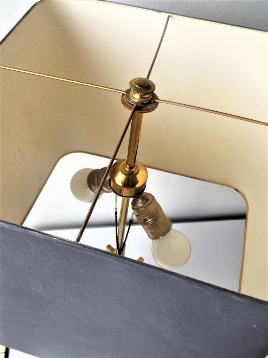 tischlampe aus messing chrom 1970er bei pamono kaufen. Black Bedroom Furniture Sets. Home Design Ideas