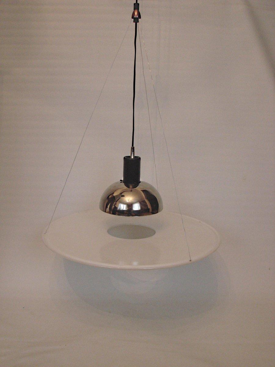 Lampada a sospensione frisbi 850 vintage di achille for Lampada di castiglioni prezzo