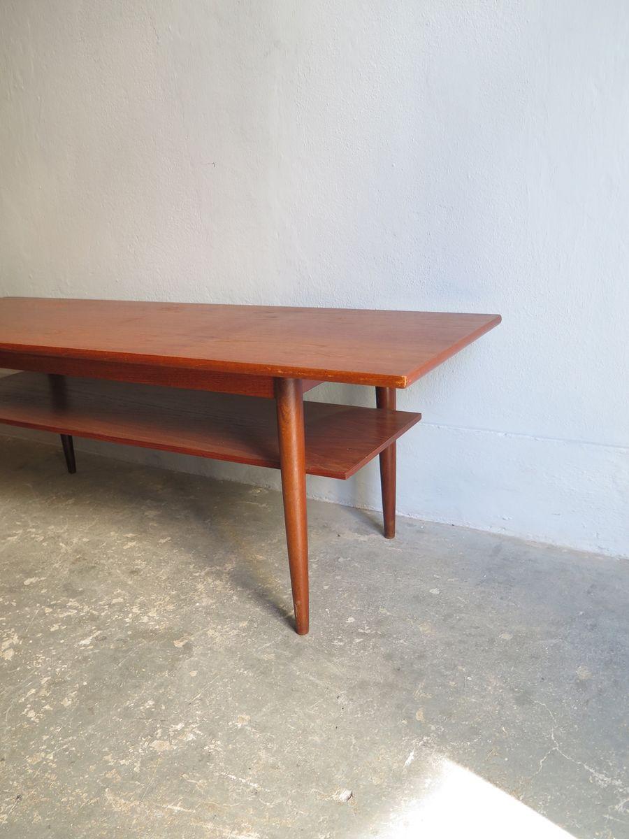 D nischer vintage teak tisch bei pamono kaufen for Vintage tisch