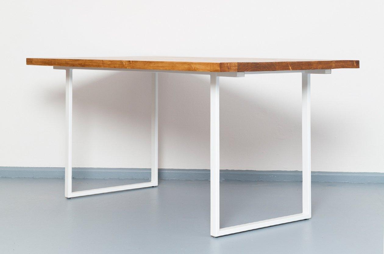 eijsden ausziehbarer tisch aus recyceltem bauholz stahl von johanenlies 2017 bei pamono kaufen. Black Bedroom Furniture Sets. Home Design Ideas