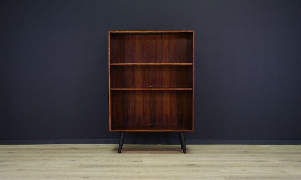 d nisches mid century palisander furnier regal bei pamono kaufen. Black Bedroom Furniture Sets. Home Design Ideas