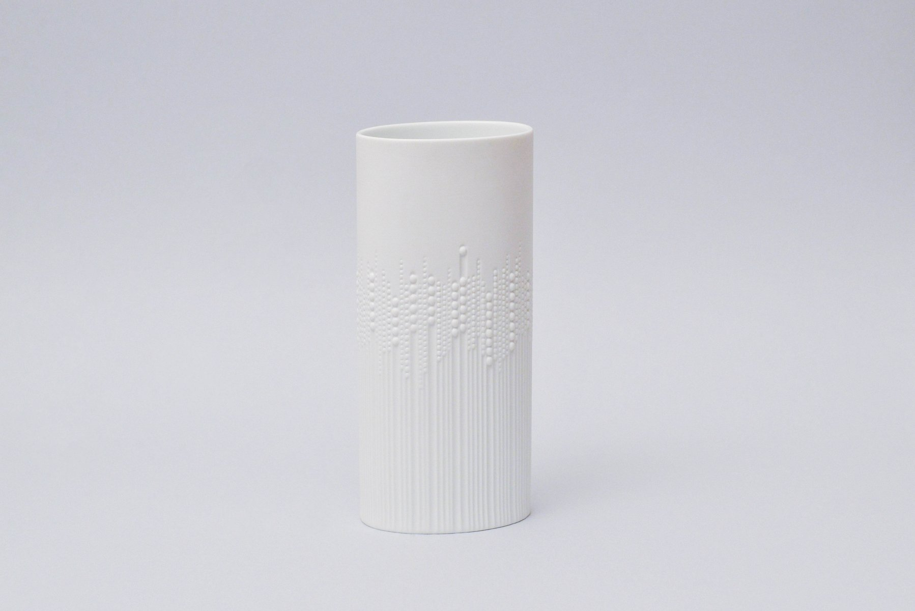 Vintage White Bisque Vase by Tapio Wirkkala for Rosenthal for sale ...
