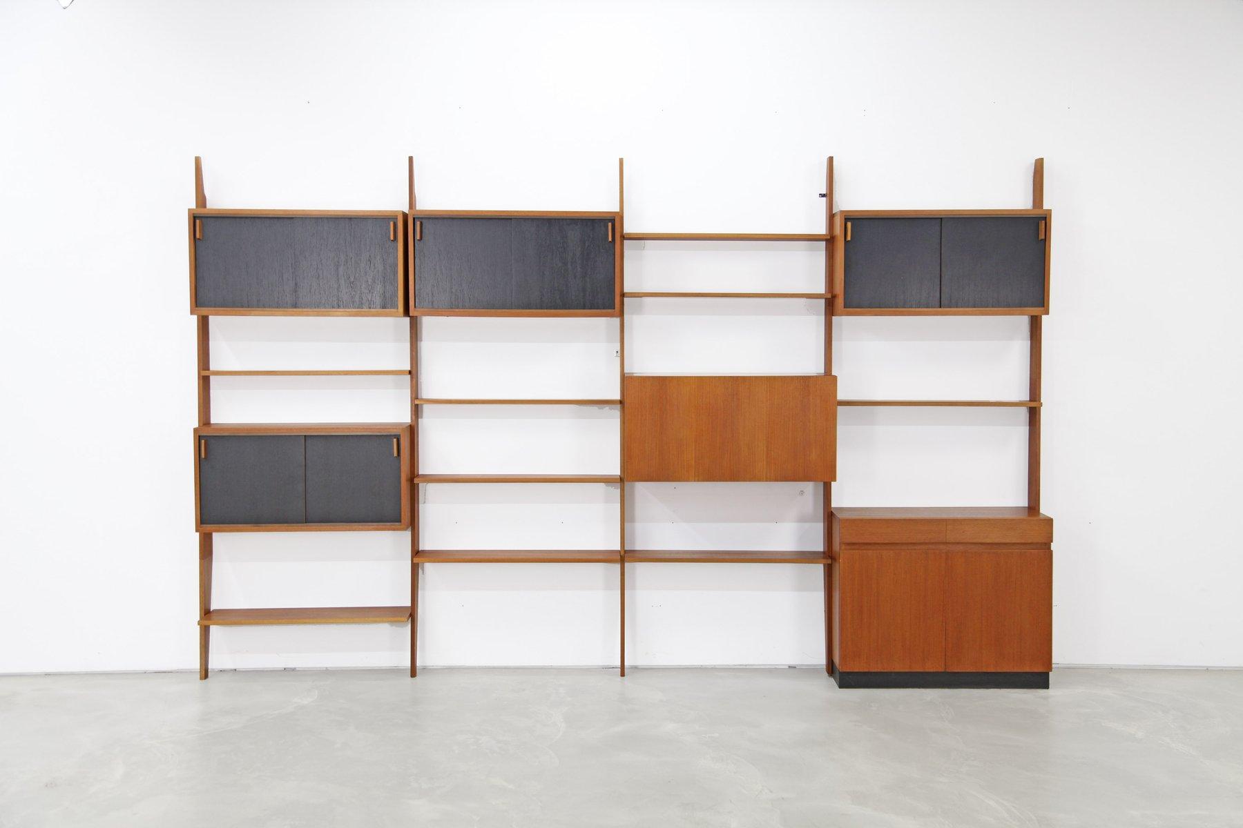 mid century regalsystem von dieter waeckerlin f r behr. Black Bedroom Furniture Sets. Home Design Ideas