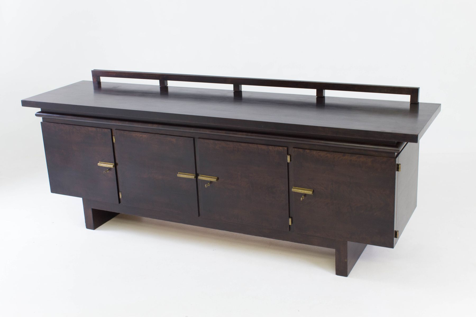 art deco sideboard by bruno paul for berliner zoo. Black Bedroom Furniture Sets. Home Design Ideas