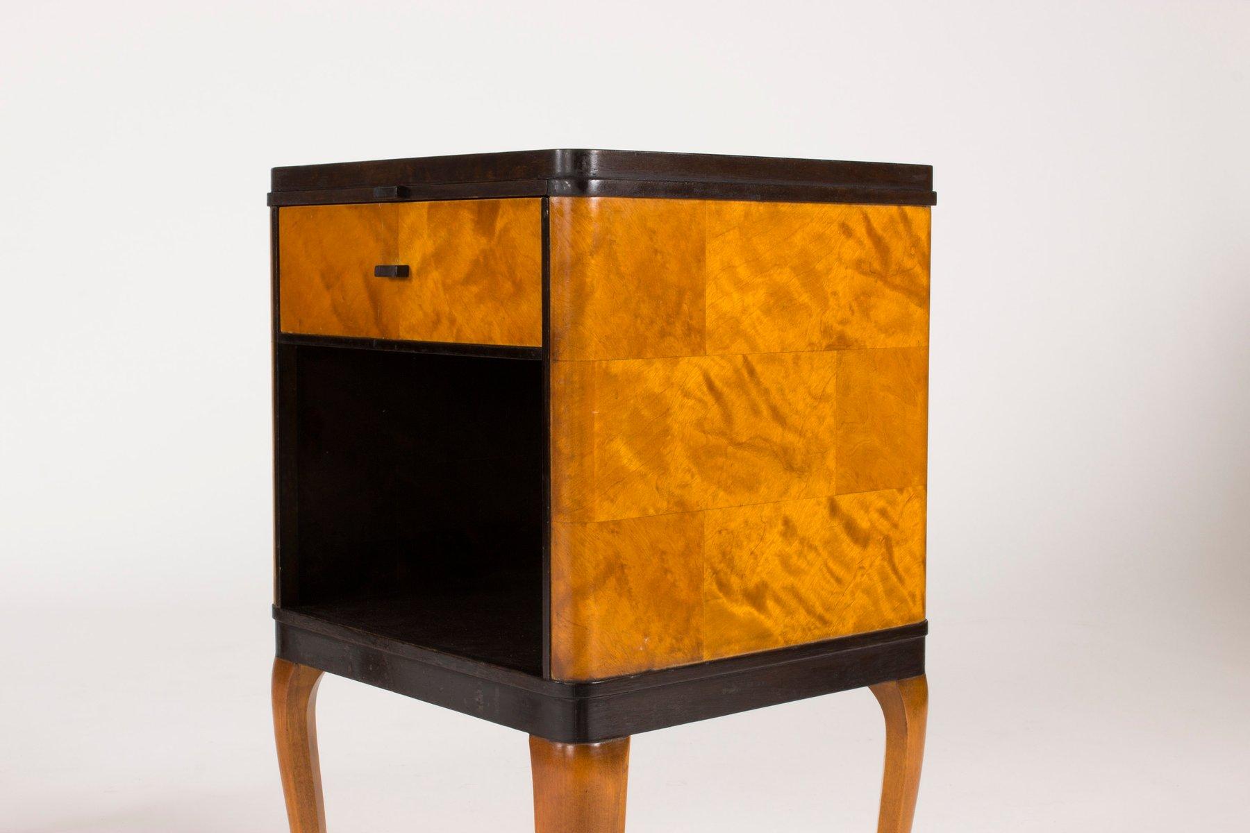 Price per set & Haga Bedside Tables by Carl Malmsten for Nordiska Kompaniet 1930s ...