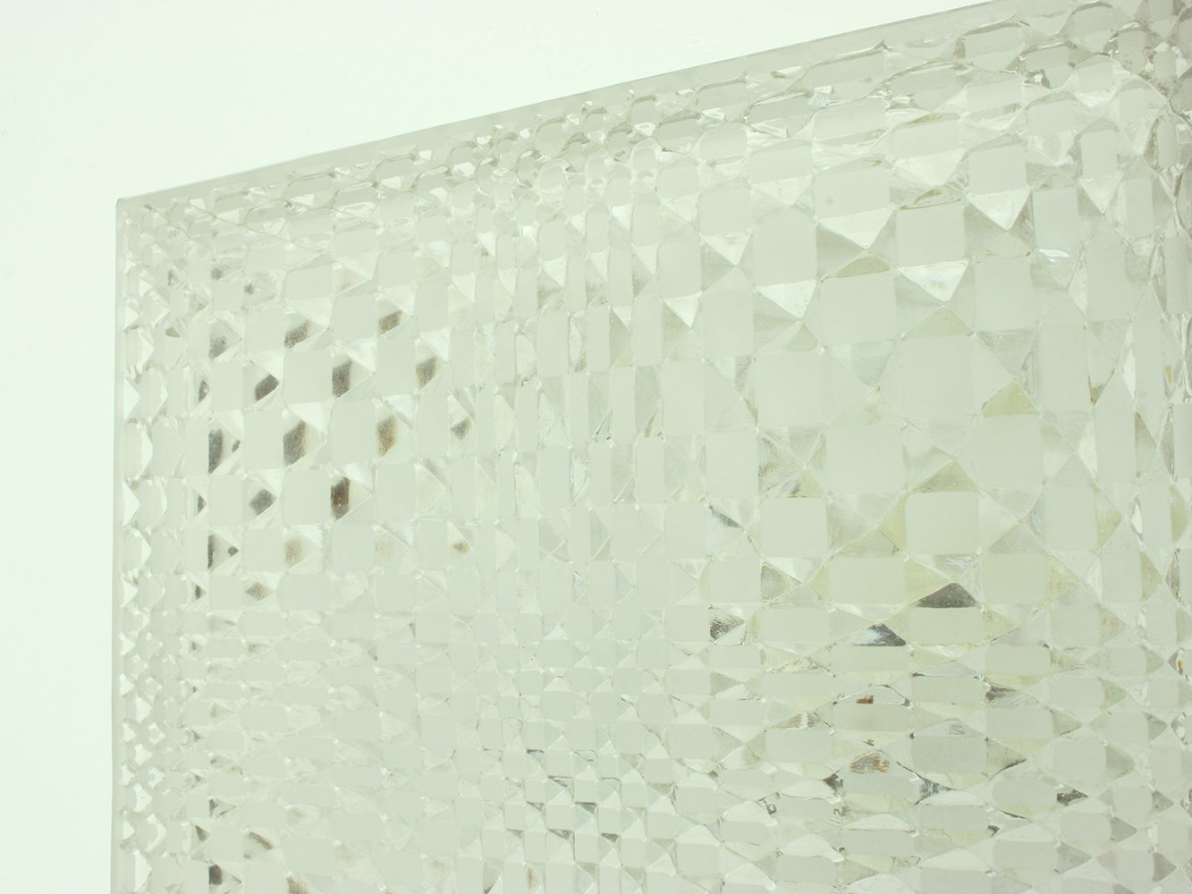 German Geometrical Glass Wall or Ceiling Lamp from Wila, 1960s for ... for Ceiling Lamp Texture  104xkb